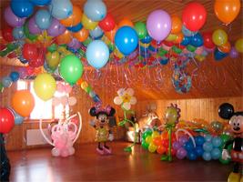 Как сделать украшения к дню рождения ребенка 898